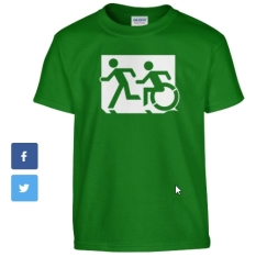 Accessible Exit Sign Project fundraiser shirts (25)