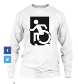 Accessible Exit Sign Project fundraiser shirts(28)