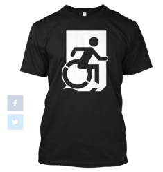 Accessible Exit Sign Project fundraiser shirts(36)