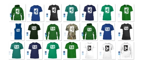 Accessible Exit Sign Project fundraiser shirts (40)