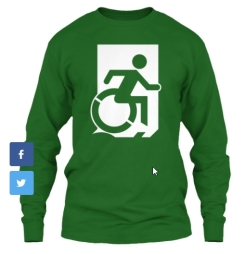 Accessible Exit Sign Project fundraiser shirts (7)