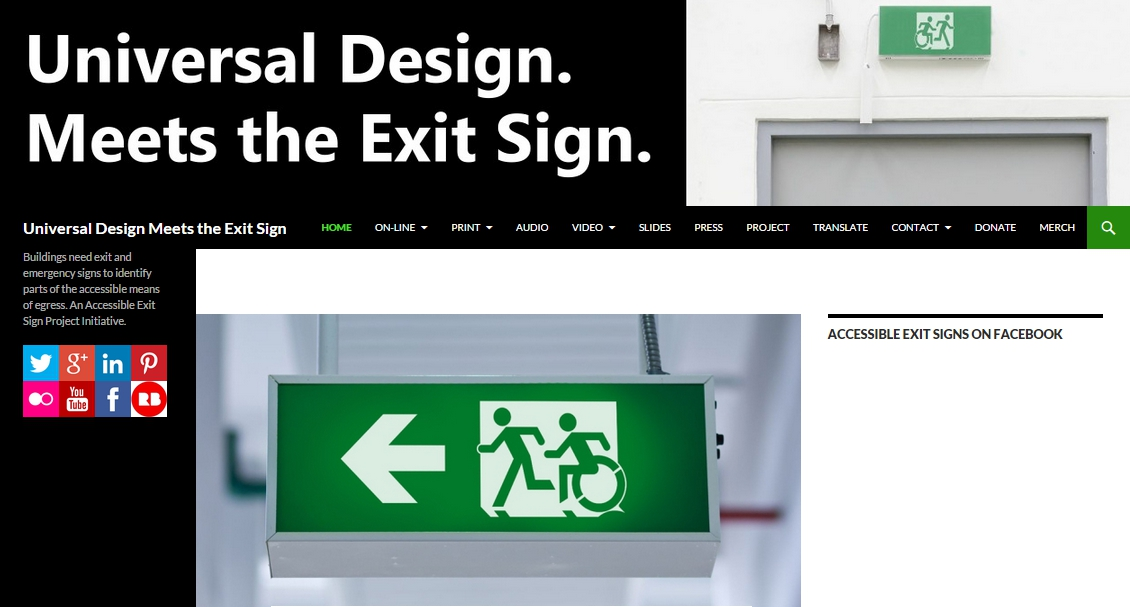 universal design meets the exit sign accessible exit sign project rh accessibleexitsigns com File Operation & Maintenance Manual Media Files Remington Owners Manuals