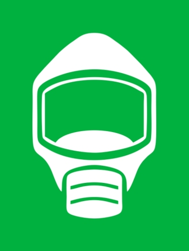 Emergency Escape Mask Smoke Hood Icon